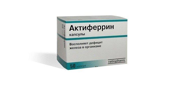 Актиферрин цена в Томске от 0 руб., купить Актиферрин, отзывы и инструкция по применению