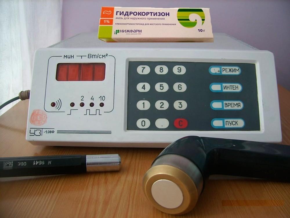 Фонофорез с гидрокортизоном что это за процедура